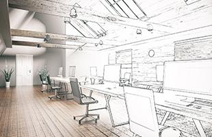 Irodatervezés, home office bútor