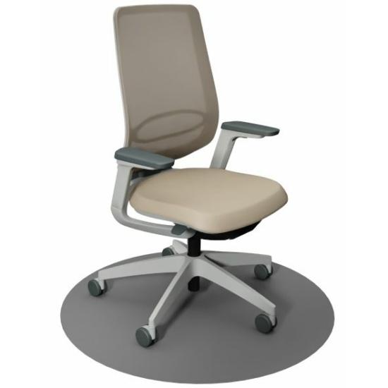Se:Flex home office forgószék szürke váz, beige ülőlappal