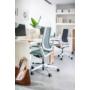 Kép 5/6 - Se:Flex home office forgószék szürke váz, pink ülőlappal